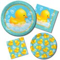 Bath Time Baby Shower Party Supplies
