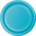 Bermuda Blue Paper Plates