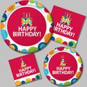 Birthday Circles Party Supplies