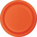 Bittersweet Orange Paper Plates