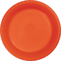 Bittersweet Orange Plastic Plates