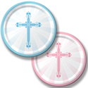 Faith Blessings Paper Dessert Plates