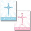Faith Blessings Party Invitations