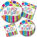 Bright & Bold Birthday Party Supplies