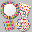 Bright Dots Party Supplies