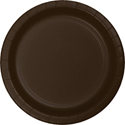 Chocolate Brown Paper Plates