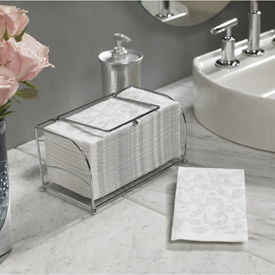 Chrome Guest Towel Holder