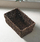 Seagrass Guest Hand Towel Basket