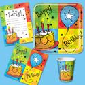 Cake Celebration Birthday Party Supplies