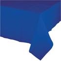 Cobalt Plastic Tablecloths - 54 x 108 Inch