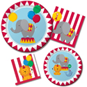 Circus Time Birthday Party Supplies