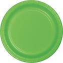 Citrus Green Paper Plates