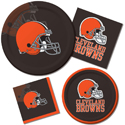 Cleveland Browns NFL Party Supplies