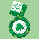 St. Patrick's Day Party Supplies - Clovers