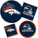Denver Broncos NFL Party Supplies