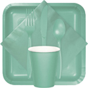 Mint Party Tableware