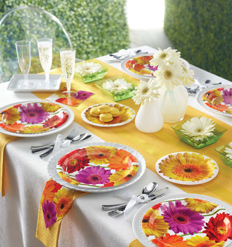 Floral Party Supplies