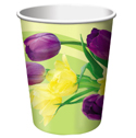 Floral Paper Beverage Cups