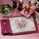 Floral Paper Placemats