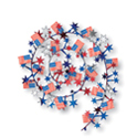 4th of July Streamers, Garlands and Banners
