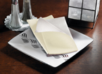 Ivory Two Tone FashnPoint Dinner Napkins – Reversible