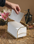 White FashnPoint Paper Guest Towels