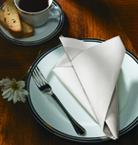 White FashnPoint Paper Napkins – Flat Pack