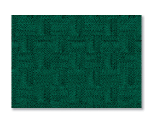 Hunter Green FashnPoint Paper Placemats - Reversible