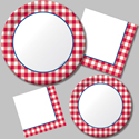 Gingham Fun Picnic Party Supplies