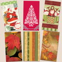 Paper Guest Hand Towels - Holiday