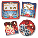 Hollywood Theme Tableware & Decorations
