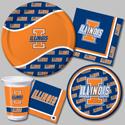 University of Illinois Party Supplies