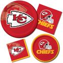Kansas City Chiefs NFL Party Supplies