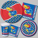 University of Kansas Party Supplies
