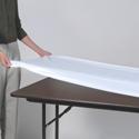 Kwik Covers Plastic Tablecloths - Reusable