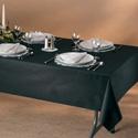 Linen Like Paper Banquet Tablecloths - 50 x 108 Inch