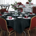 Linen Like Paper Tablecloths - 82 Inch
