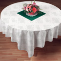 Linen Like Paper Table Covers - 82 Inches