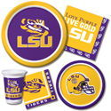 Louisiana State University Party Supplies