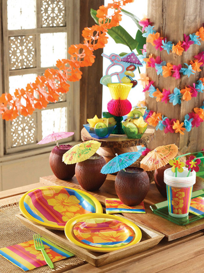 Luau Party Supplies & Decorations