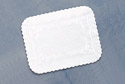 White Paper Tray Liners - Medium Weight