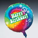 Metallic Birthday Balloons