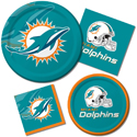 Miami Dolphins NFL Party Supplies