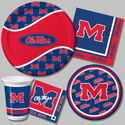 University of Mississippi Party Supplies - Ole Miss