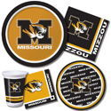 University of Missouri Party Supplies