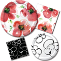 Mod Poppies Party Supplies