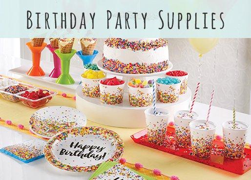 Bulk Birthday Party Supplies