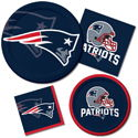 New England Patriots NFL Party Supplies