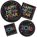 New Year's Party Tableware