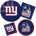 New York Giants NFL Party Supplies